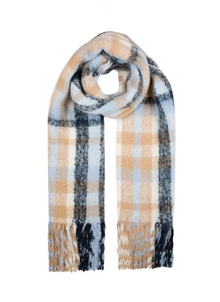 BOLD CHECKED BLANCKET SCARF