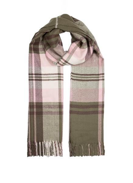 MIDWEIGHT BOLD CHECKED SCARF