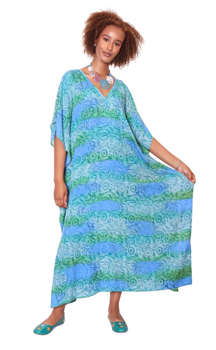 KAFTAN DRESS VISCOSE