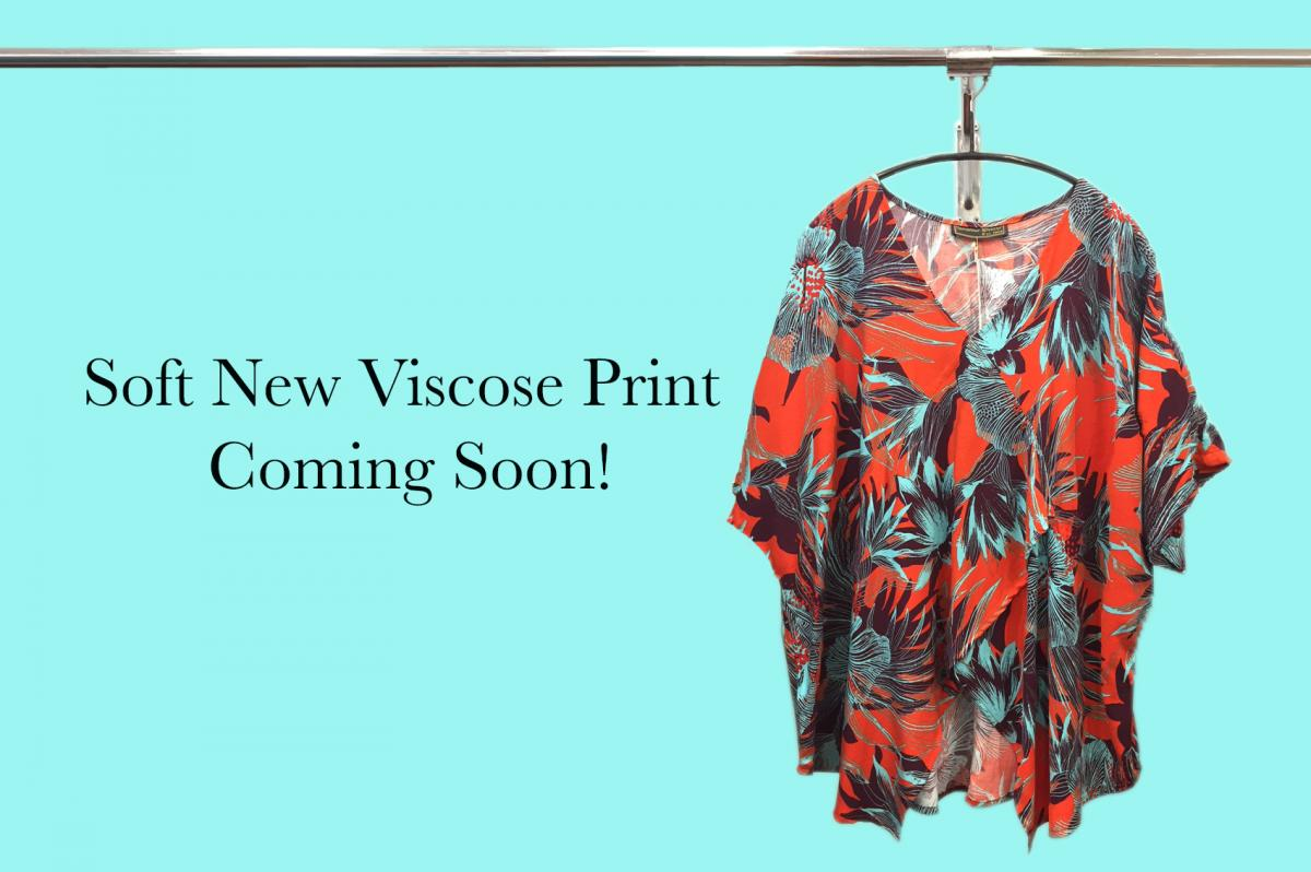 Soft New Viscose Print
