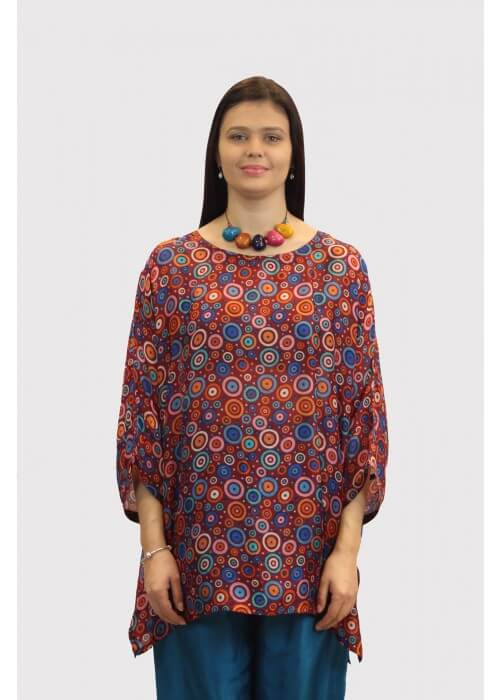 SHG63 Silk Tunic
