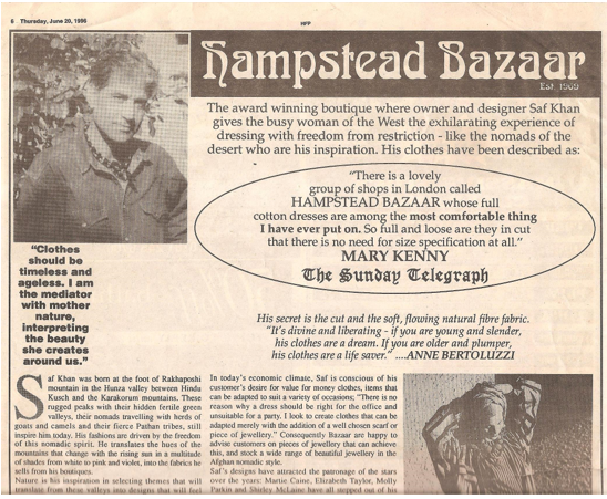 hampstead bazaar